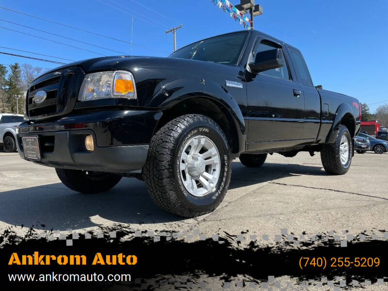 2007 Ford Ranger for sale at Ankrom Auto in Cambridge OH