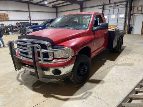 2004 Dodge Ram Pickup 3500 for sale at Rickman Motor Company in Somerville TN