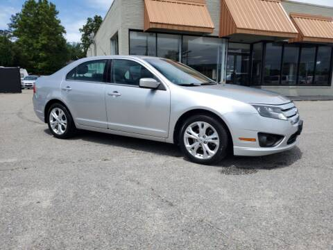 2012 Ford Fusion for sale at Ron's Used Cars in Sumter SC