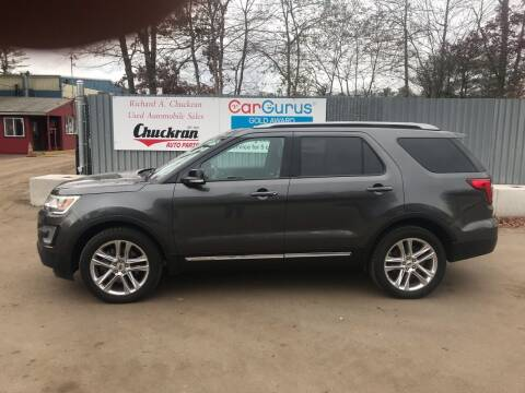2017 Ford Explorer for sale at Chuckran Auto Parts Inc in Bridgewater MA