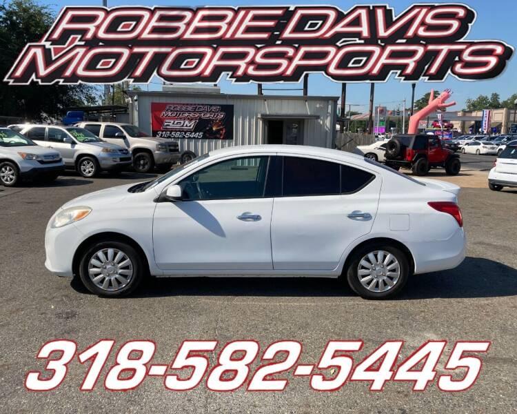2014 Nissan Versa for sale at Robbie Davis Motorsports in Monroe LA