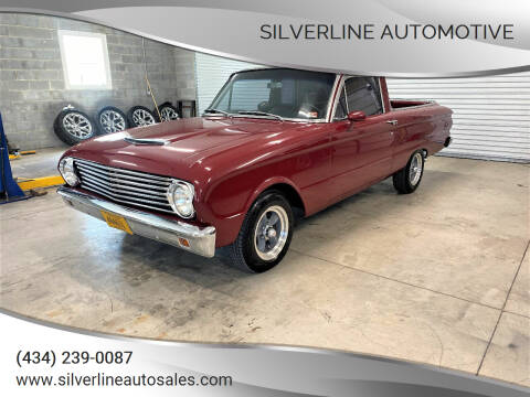 1963 Ford Ranchero for sale at Silverline Automotive in Lynchburg VA