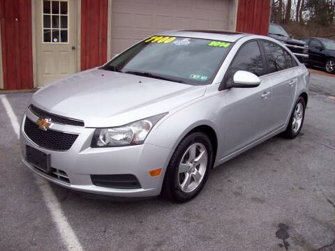 2014 Chevrolet Cruze for sale at Clift Auto Sales in Annville PA