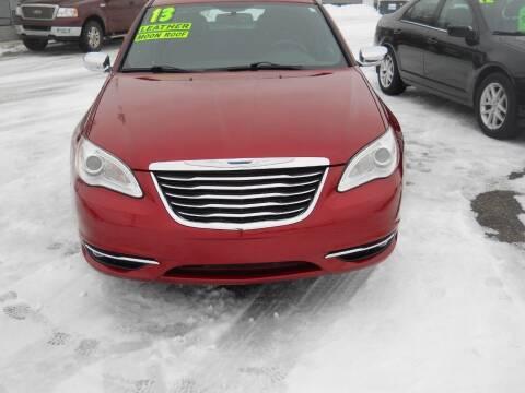 2013 Chrysler 200 for sale at Shaw Motor Sales in Kalkaska MI