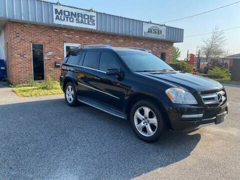 2012 Mercedes-Benz GL-Class for sale at Monroe Auto Sales Inc in Wilmington NC