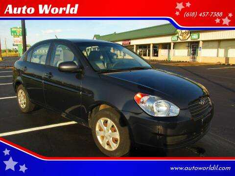 2010 Hyundai Accent for sale at Auto World in Carbondale IL