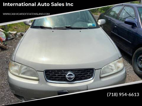 2003 Nissan Sentra for sale at International Auto Sales Inc in Staten Island NY