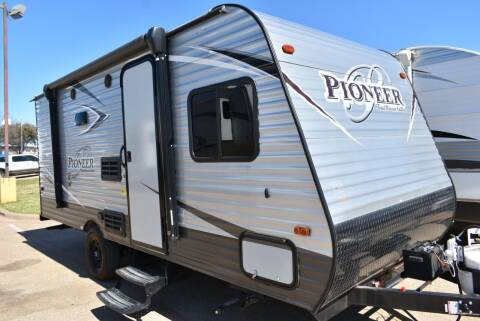 2018 Heartland Pioneer 185 for sale at Buy Here Pay Here RV in Burleson TX