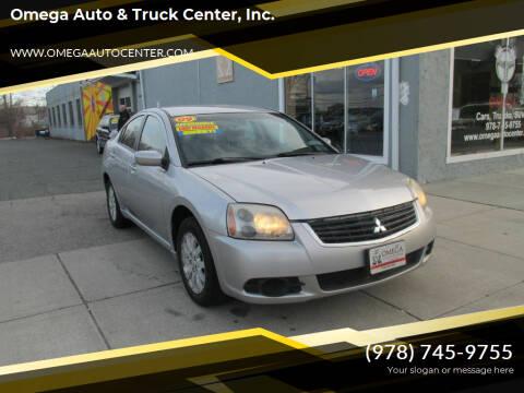 2009 Mitsubishi Galant for sale at Omega Auto & Truck Center, Inc. in Salem MA
