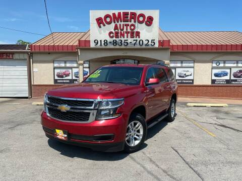 2015 Chevrolet Tahoe for sale at Romeros Auto Center in Tulsa OK