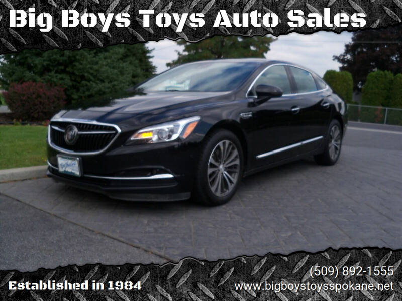 2017 Buick LaCrosse for sale at Big Boys Toys Auto Sales in Spokane Valley WA