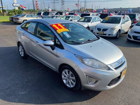 2011 Ford Fiesta for sale at Texas 1 Auto Finance in Kemah TX