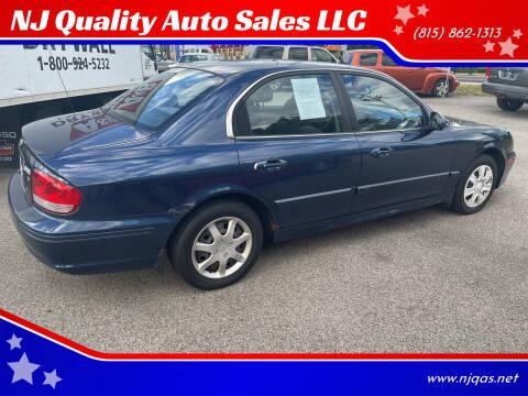 2002 Hyundai Sonata for sale at NJ Quality Auto Sales LLC in Richmond IL
