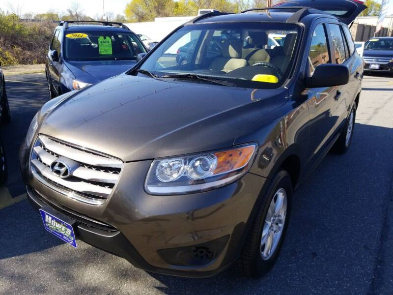 2012 Hyundai Santa Fe for sale at Howe's Auto Sales in Lowell MA