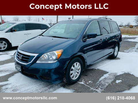2010 Honda Odyssey for sale at Concept Motors LLC in Holland MI