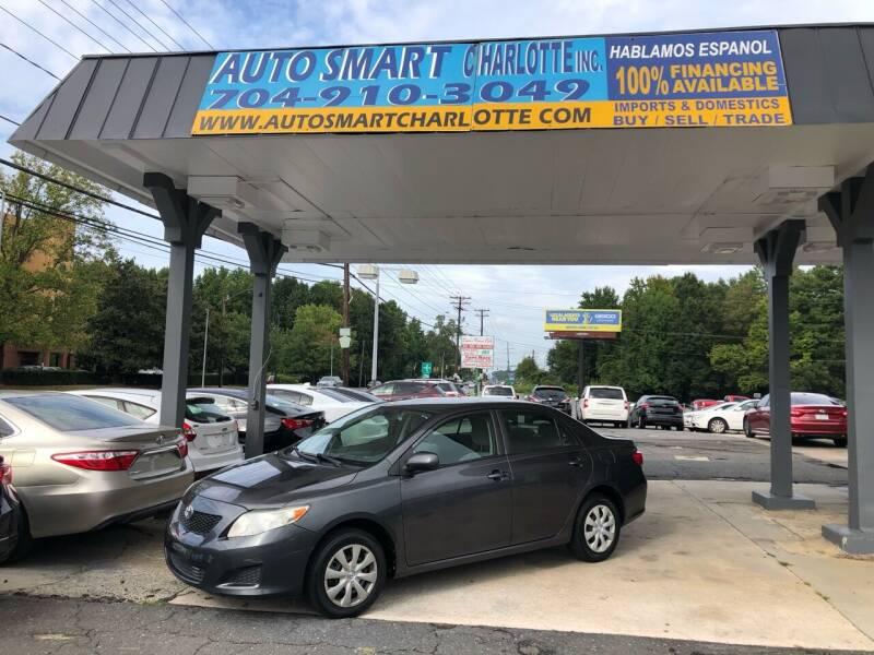 2009 Toyota Corolla for sale at Auto Smart Charlotte in Charlotte NC