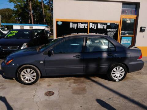 2006 Mitsubishi Lancer for sale at QUALITY AUTO SALES OF FLORIDA in New Port Richey FL