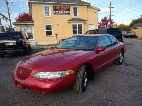 1998 Lincoln Mark VIII for sale at Top Gear Motors in Winchester VA