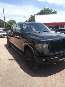 2011 Ford F-150 for sale at PYRAMID MOTORS AUTO SALES in Florence CO