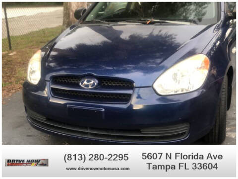 2010 Hyundai Accent for sale at Drive Now Motors USA in Tampa FL