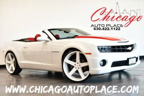 2011 Chevrolet Camaro for sale at Chicago Auto Place in Bensenville IL
