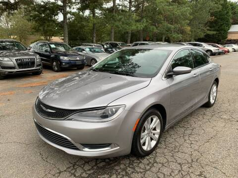 2015 Chrysler 200 for sale at MVP Auto LLC in Alpharetta GA