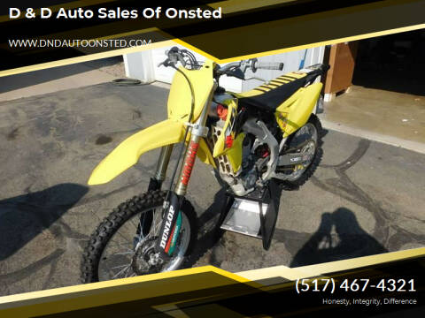 2014 Suzuki 450 for sale at D & D Auto Sales Of Onsted in Onsted   Brooklyn MI