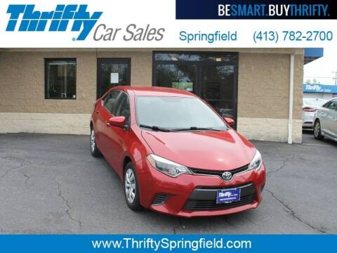 2016 Toyota Corolla for sale at Thrifty Car Sales Springfield in Springfield MA