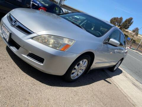 2007 Honda Accord for sale at Beyer Enterprise in San Ysidro CA