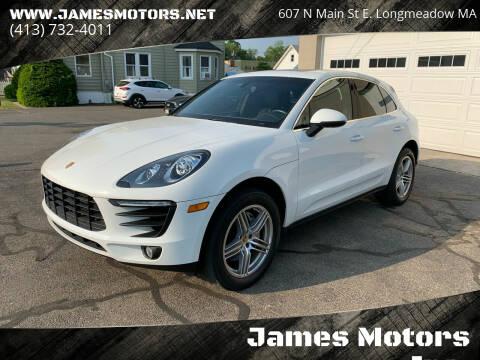 2015 Porsche Macan for sale at James Motors Inc. in East Longmeadow MA