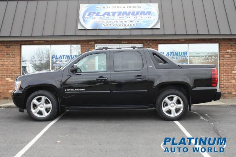 2007 Chevrolet Avalanche for sale at Platinum Auto World in Fredericksburg VA