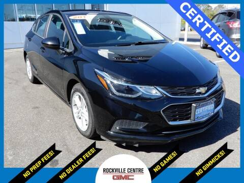 2017 Chevrolet Cruze for sale at Rockville Centre GMC in Rockville Centre NY