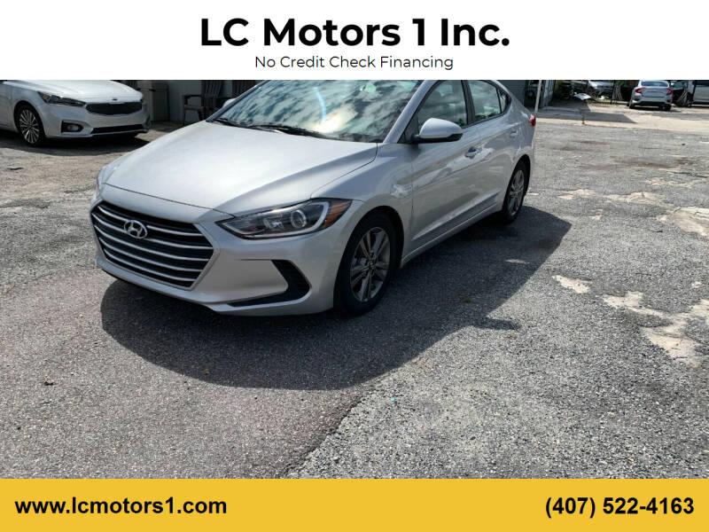 2017 Hyundai Elantra for sale at LC Motors 1 Inc. in Orlando FL