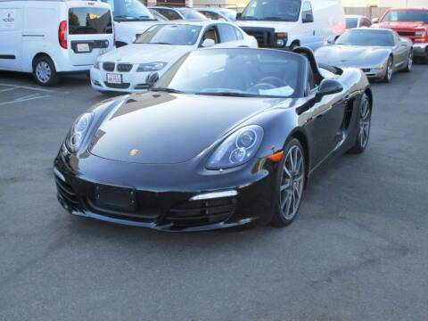 2016 Porsche Boxster for sale at Convoy Motors LLC in National City CA