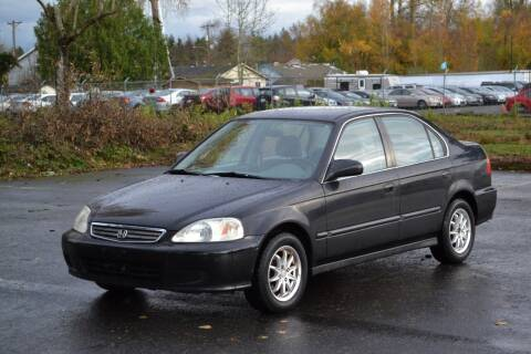 1999 Honda Civic for sale at Skyline Motors Auto Sales in Tacoma WA