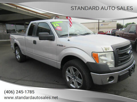 2014 Ford F-150 for sale at Standard Auto Sales in Billings MT