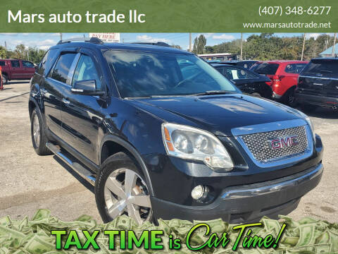 2011 GMC Acadia for sale at Mars auto trade llc in Kissimmee FL