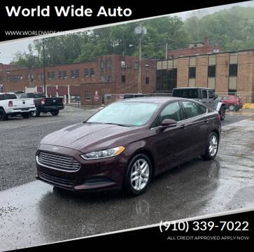 2013 Ford Fusion for sale at World Wide Auto in Fayetteville NC