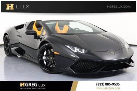 2017 Lamborghini Huracan for sale at HGREG LUX EXCLUSIVE MOTORCARS in Pompano Beach FL