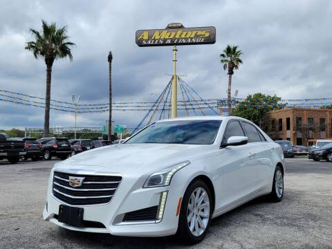 2015 Cadillac CTS for sale at A MOTORS SALES AND FINANCE in San Antonio TX