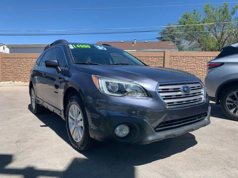 2015 Subaru Outback for sale at Berge Auto in Orem UT