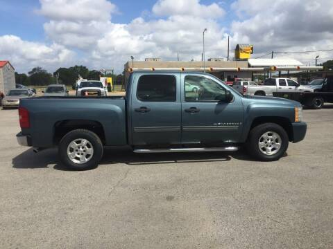 2009 Chevrolet Silverado 1500 for sale at JENTSCH MOTORS in Hearne TX