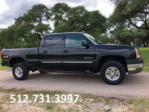 2004 Chevrolet Silverado 2500HD for sale at Austin Elite Motors in Austin TX