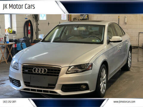 2010 Audi A4 for sale at JK Motor Cars in Pittsburgh PA