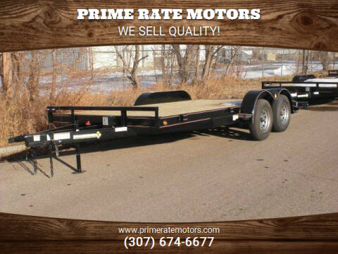 2021 Diamond-T 18FT CAR HAULER TRAILER