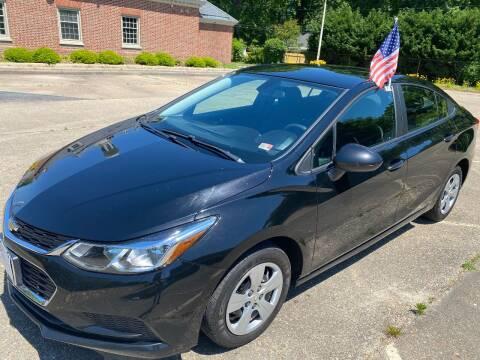 2017 Chevrolet Cruze for sale at Hilton Motors Inc. in Newport News VA