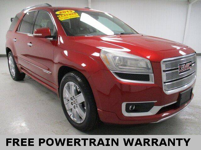 2013 GMC Acadia for sale at Sports & Luxury Auto in Blue Springs MO