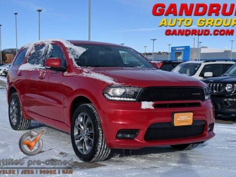 2020 Dodge Durango for sale at Gandrud Dodge in Green Bay WI