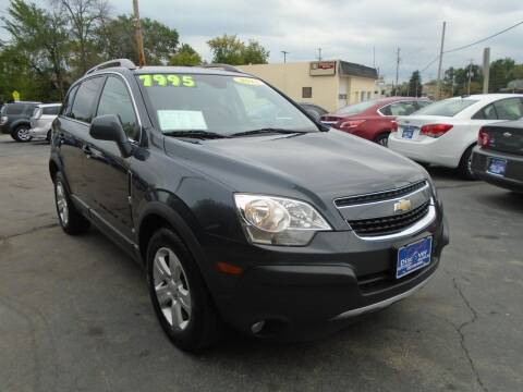2013 Chevrolet Captiva Sport for sale at DISCOVER AUTO SALES in Racine WI