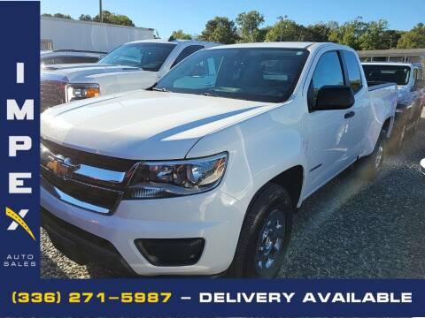 2016 Chevrolet Colorado for sale at Impex Auto Sales in Greensboro NC